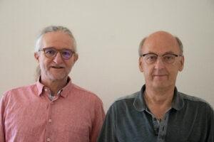 Trainer Norbert und Klaus