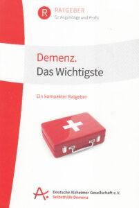 """Broschüre """"Demenz - Das Wichtigste"""""""